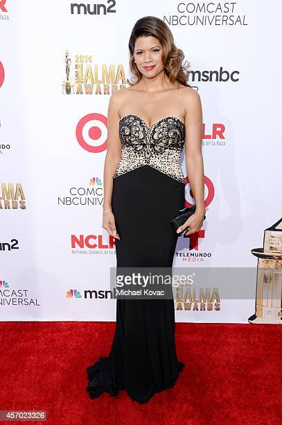 Actress Andrea Navedo attends the 2014 NCLR ALMA Awards at the Pasadena Civic Auditorium on October 10 2014 in Pasadena California