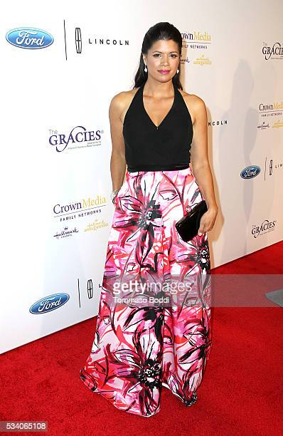 Actress Andrea Navedo attends the 41st Annual Gracie Awards at Regent Beverly Wilshire Hotel on May 24 2016 in Beverly Hills California