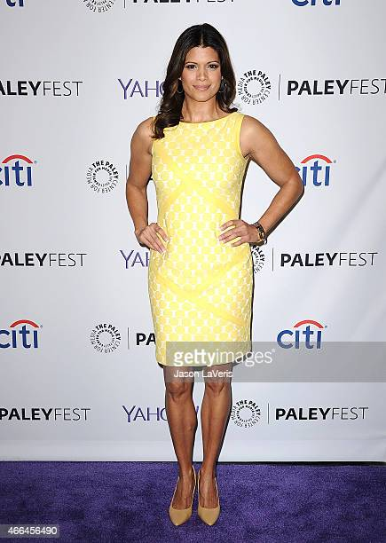 Actress Andrea Navedo attends the Jane The Virgin event at the 32nd annual PaleyFest at Dolby Theatre on March 15 2015 in Hollywood California