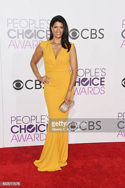 Actress Andrea Navedo attends the People's Choice Awards 2017 at Microsoft Theater on January 18 2017 in Los Angeles California