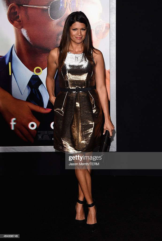 Actress Andrea Navedo attends the Warner Bros. Pictures' 'Focus' premiere at TCL Chinese Theatre on February 24, 2015 in Hollywood, California.