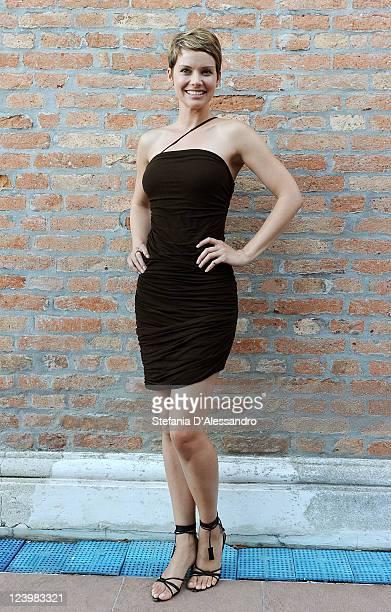 Actress Andrea Osvart attends the 'Una Vita Nel Cinema' Award at Palazzo del Cinema on September 6 2011 in Venice Italy