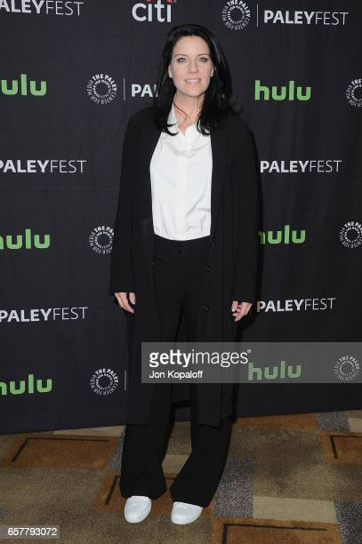 Actress Andrea Parker arrives at The Paley Center For Media's 34th Annual PaleyFest Los Angeles 'Pretty Little Liars' at Dolby Theatre on March 25...