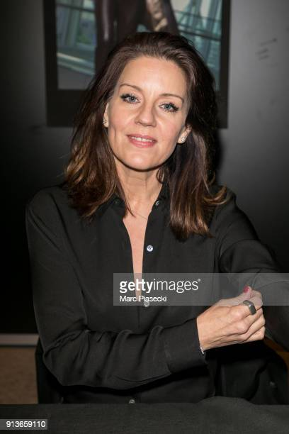 Actress Andrea Parker attends the '25th Paris Manga SciFi Show' at Parc des Expositions Porte de Versailles on February 3 2018 in Paris France