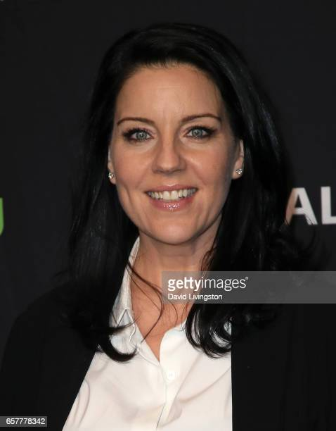 Actress Andrea Parker attends The Paley Center for Media's 34th Annual PaleyFest Los Angeles presentation of 'Pretty Little Liars' at Dolby Theatre...