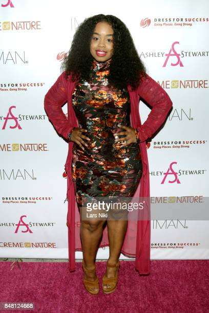 Actress Andrea Rachel Parker attends Finding Ashley Stewart 2017 at Kings Theatre on September 16 2017 in