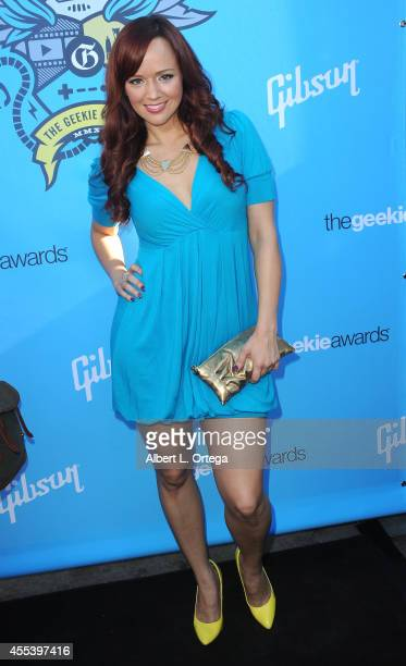 Actress Andrea Rene of 'The Escapist' arrives for The Geekie Awards 2014 held at Avalon on August 17 2014 in Hollywood California
