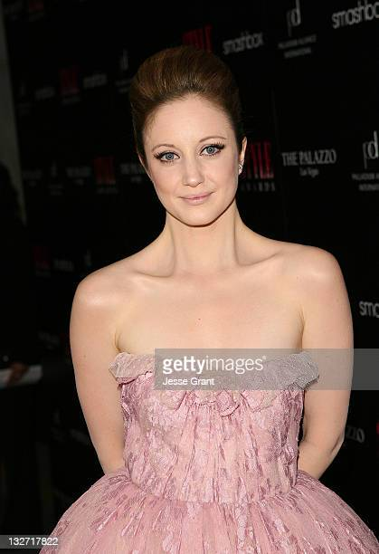 Actress Andrea Riseborough arrives at the 2011 Hollywood Style Awards sponsored by Smashbox The Palazzo Las Vegas and Palladium Jewelry held at...