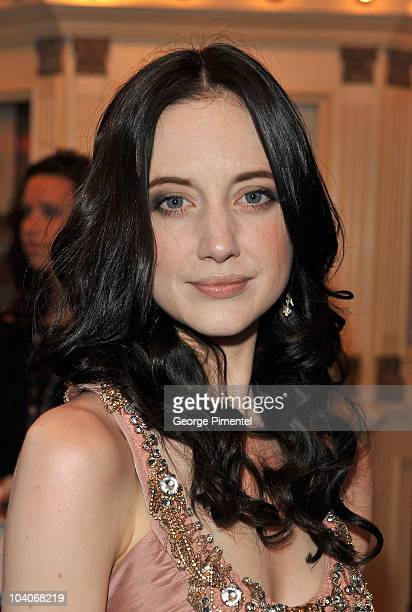 Actress Andrea Riseborough attends the 'Brighton Rock' Premiere held at the Winter Garden Theatre during the 35th Toronto International Film Festival...