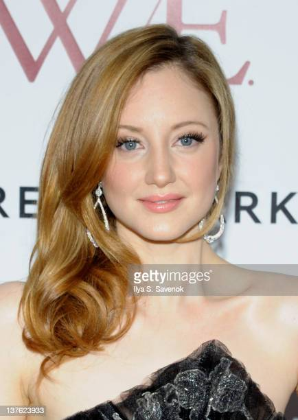 """Actress Andrea Riseborough attends The Weinstein Company with The Cinema Society & Forevermark premiere of """"W.E."""" at the Ziegfeld Theater on January..."""