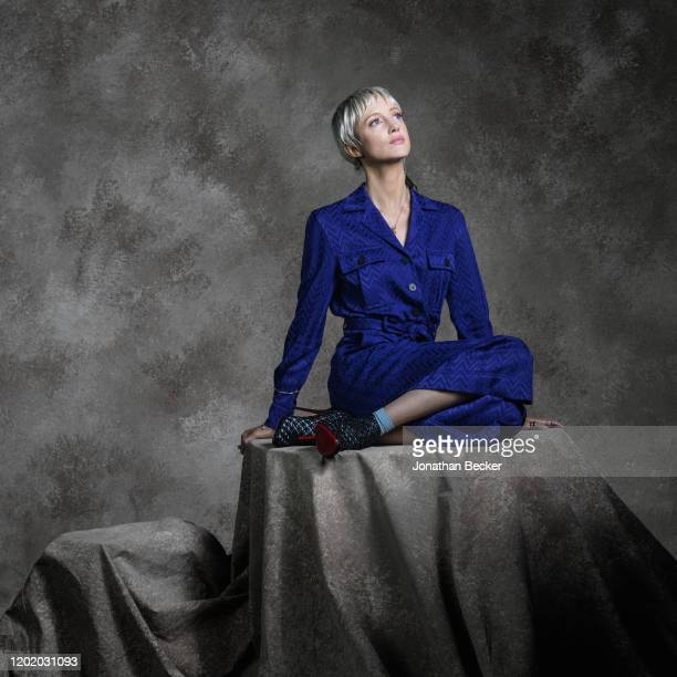 Actress Andrea Riseborough poses for a portrait at the Savannah Film Festival on October 29 2017 at Savannah College of Art and Design in Savannah...