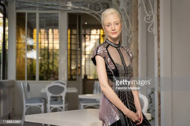 Actress Andrea Riseborough poses for a portrait on September 5, 2019 in Venice, Italy.