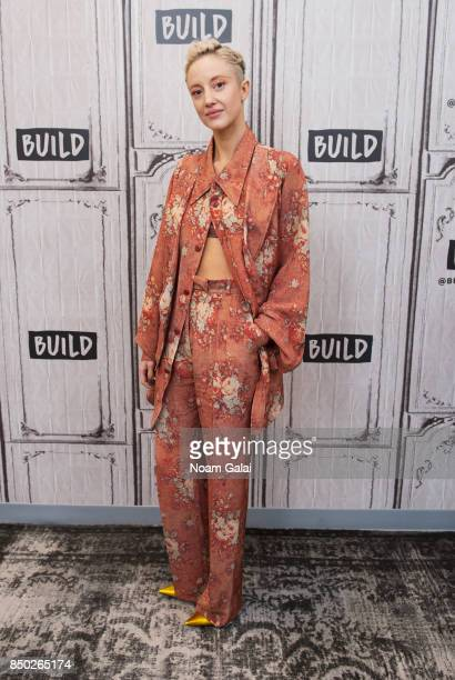 Actress Andrea Riseborough visits Build Series to discuss 'Battle of the Sexes' at Build Studio on September 20 2017 in New York City