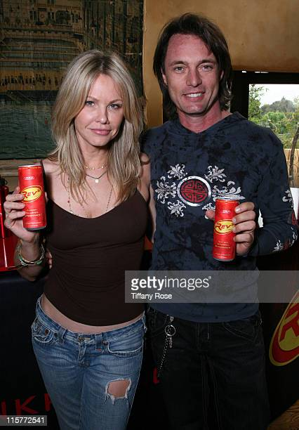 Actress Andrea Roth and actor James Wilder drink Rev 3 at Melanie Segal's MTV Movie Awards House Presented by Rev 3 Day 2 on May 29 2009 in Los...