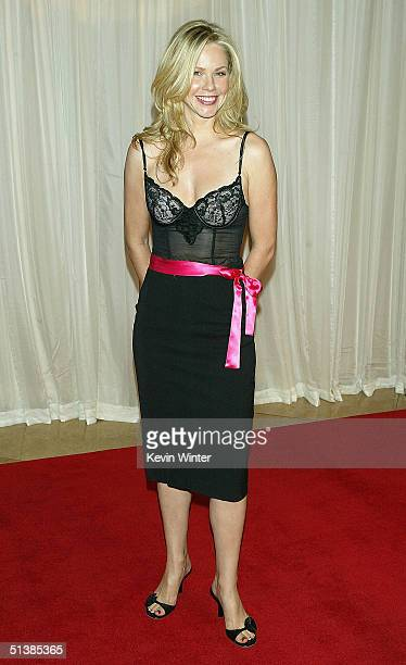 Actress Andrea Roth arrives at 'Noche de Ninos' a benefit for Childrens Hospital of Los Angeles at the Beverly Hilton Hotel on October 2 2004 in...
