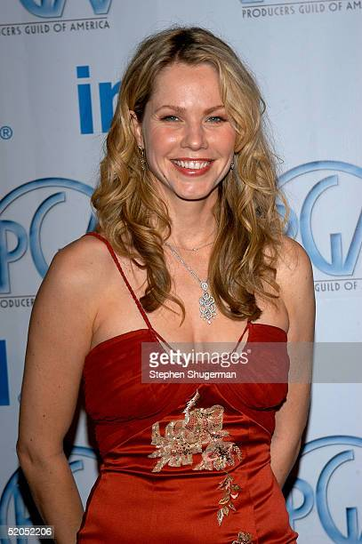 Actress Andrea Roth arrives at the 16th Annual Producers Guild Awards at Culver Studios on January 22 2005 in Culver City California