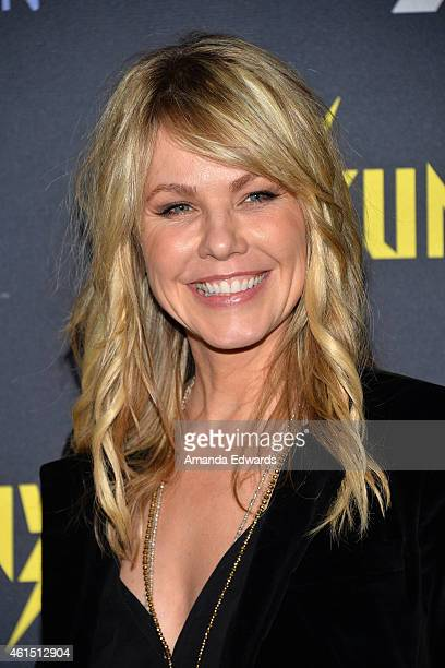 Actress Andrea Roth arrives at the Red Carpet Premiere of FXX's 'It's Always Sunny In Philadelphia' and 'Man Seeking Woman' at the DGA Theater on...