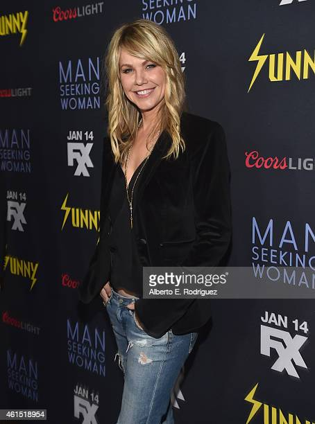 Actress Andrea Roth arrives to the premiere of FXX's 'It's Always Sunny in Philadelphia' 10th Season and 'Man Seeking Woman' at DGA Theater on...