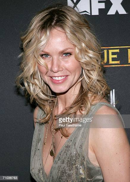 Actress Andrea Roth arrives to the Season Three New York Premiere of 'Rescue Me' at the Ziegfeld Theatre May 24 2006 in New York City