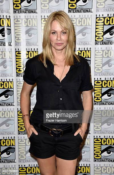 Actress Andrea Roth attends 'Ascension' Press Line during ComicCon International 2014 at Hilton Bayfront on July 26 2014 in San Diego California