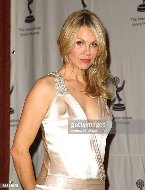 Actress Andrea Roth attends the 36th annual International Emmy Awards recognizing excellence in television programming produced outside of the United...