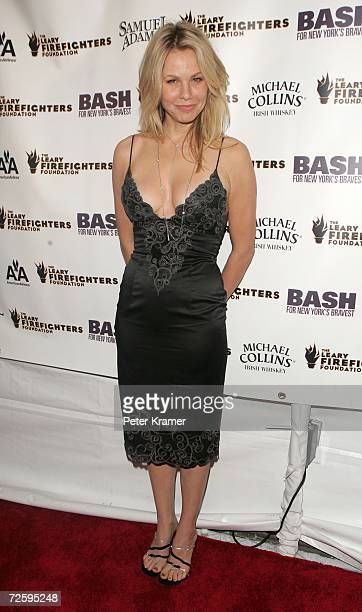 Actress Andrea Roth attends the 6th annual bash for New York's bravest to benefit The Leary Firefighters Foundation on November 17 2006 in New York...