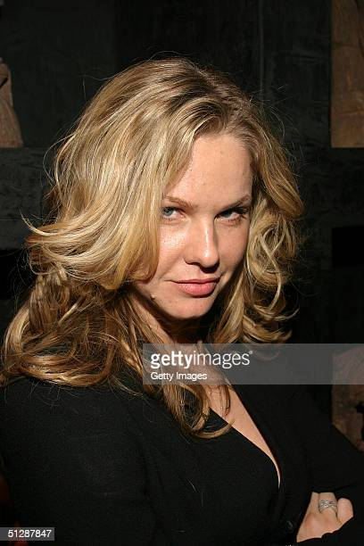Actress Andrea Roth attends the Gustavo Arango After Party at Taj night club during the Olympus Fashion Week Spring 2005 September 10 2004 in New...