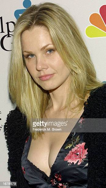 Actress Andrea Roth attends the Help Group 6th Annual Teddy Awards at the Regent Beverly Wilshire Hotel on December 8 2002 in Beverly Hills...