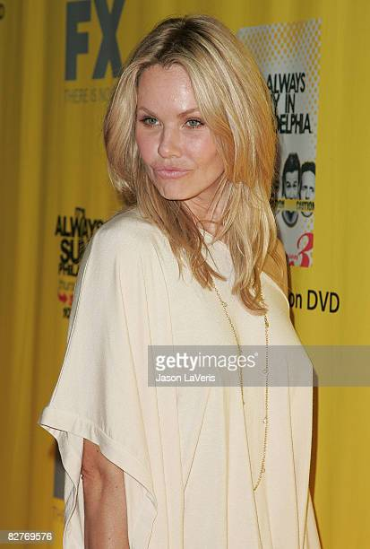 Actress Andrea Roth attends the 'It's Always Sunny in Philadelphia' DVD release and premiere party at STK on September 10 2008 in West Hollywood...