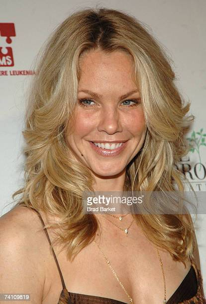 Actress Andrea Roth attends the Links For Life Gala at Capitale on May 8 2007 in New York City