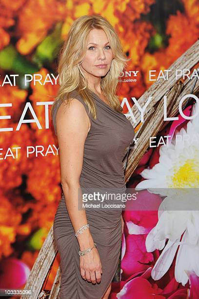 Actress Andrea Roth attends the premiere of 'Eat Pray Love' at the Ziegfeld Theatre on August 10 2010 in New York City