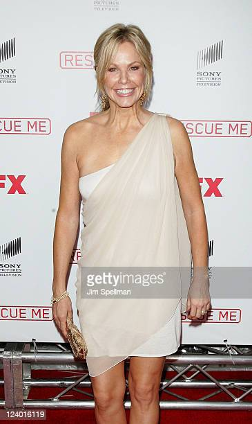 Actress Andrea Roth attends the 'Rescue Me' Season 7 series finale episode screening at the Ziegfeld Theatre on September 7 2011 in New York City