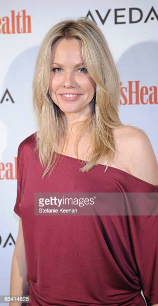 Actress Andrea Roth attends The Women's Health Magazine Green For Good Soiree at The Sunset Tower Hotel on October 23 2008 in Los Angeles California