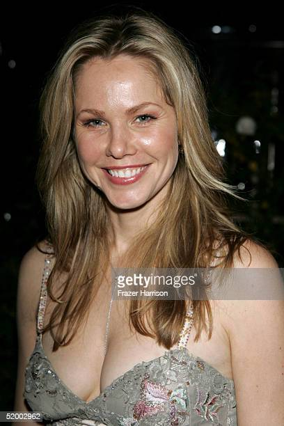 Actress Andrea Roth poses at the Fox Golden Globe After Party at the Beverly Hilton Hotel on January 16 2004 in Beverly Hills California