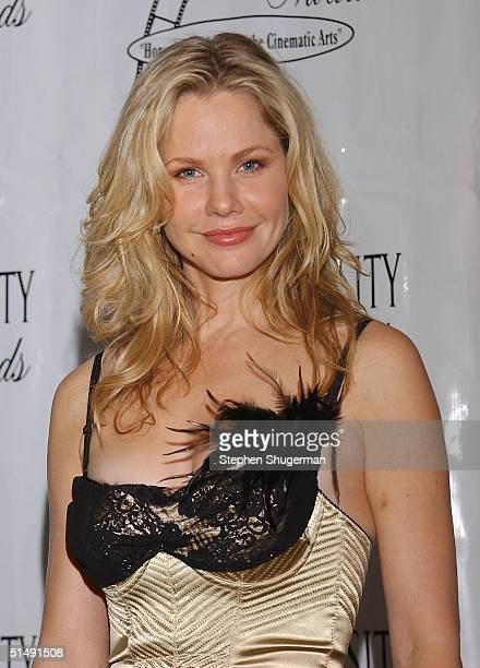 Actress Andrea Roth poses in the press room at the 11th Annual Diversity Awards at The Beverly Hills Hotel on October 17 2004 in Beverly Hills...