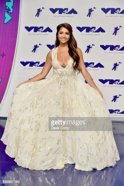 Actress Andrea Russett attends the 2017 MTV Video Music Awards at The Forum on August 27 2017 in Inglewood California