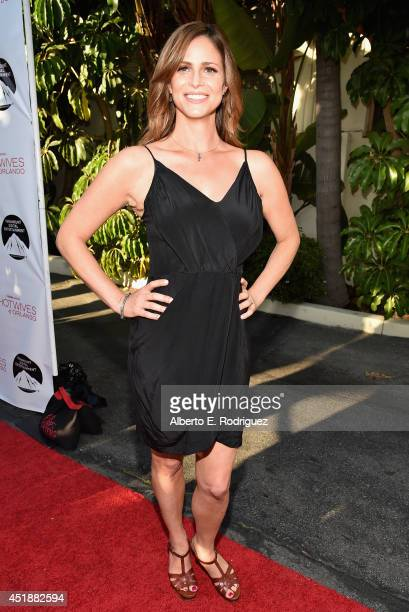 Actress Andrea Savage arrives to the premiere of Hulu's 'The Hotwives of Orlando' at the Sherry Lansing Theatre at Paramount Studios on July 8 2014...