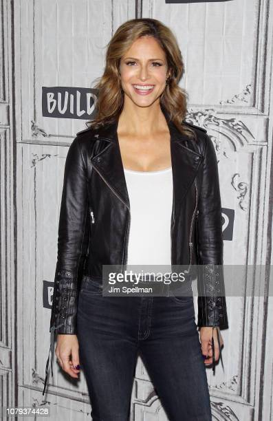 Actress Andrea Savage attends the Build Series to discuss 'I'm Sorry' at Build Studio on January 8 2019 in New York City