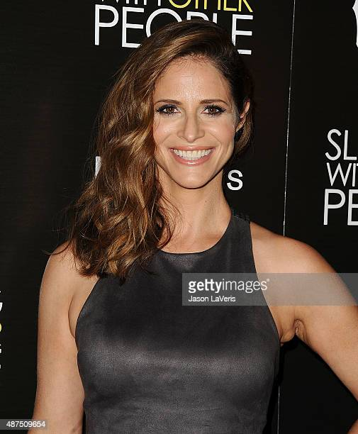 Actress Andrea Savage attends the premiere of 'Sleeping With Other People' at ArcLight Cinemas on September 9 2015 in Hollywood California