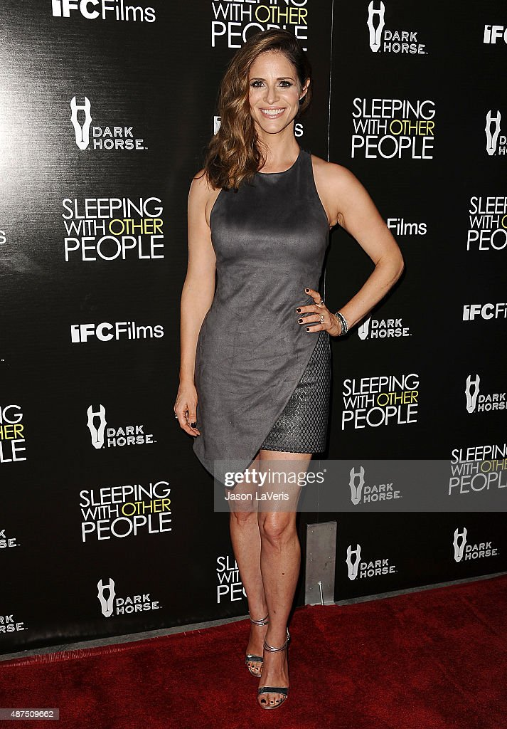 Actress Andrea Savage attends the premiere of 'Sleeping With Other People' at ArcLight Cinemas on September 9, 2015 in Hollywood, California.