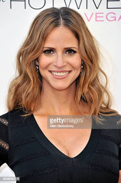Actress Andrea Savage attends the screening of Hulu and Paramount Digital Entertainment's 'The Hotwives Of Las Vegas' at Sherry Lansing Theatre at...
