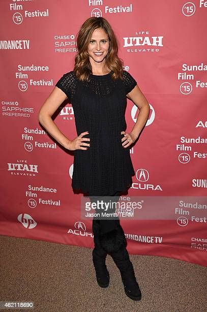 Actress Andrea Savage attends the 'Sleeping With Other People' premiere during the 2015 Sundance Film Festival on January 24 2015 in Park City Utah