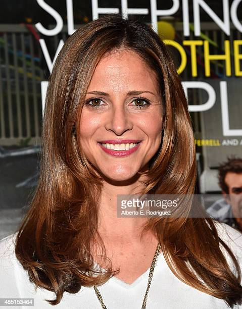 Actress Andrea Savage attends the Tastemaker screening of IFC Films' 'Sleeping With Other People' on August 24 2015 in Los Angeles California
