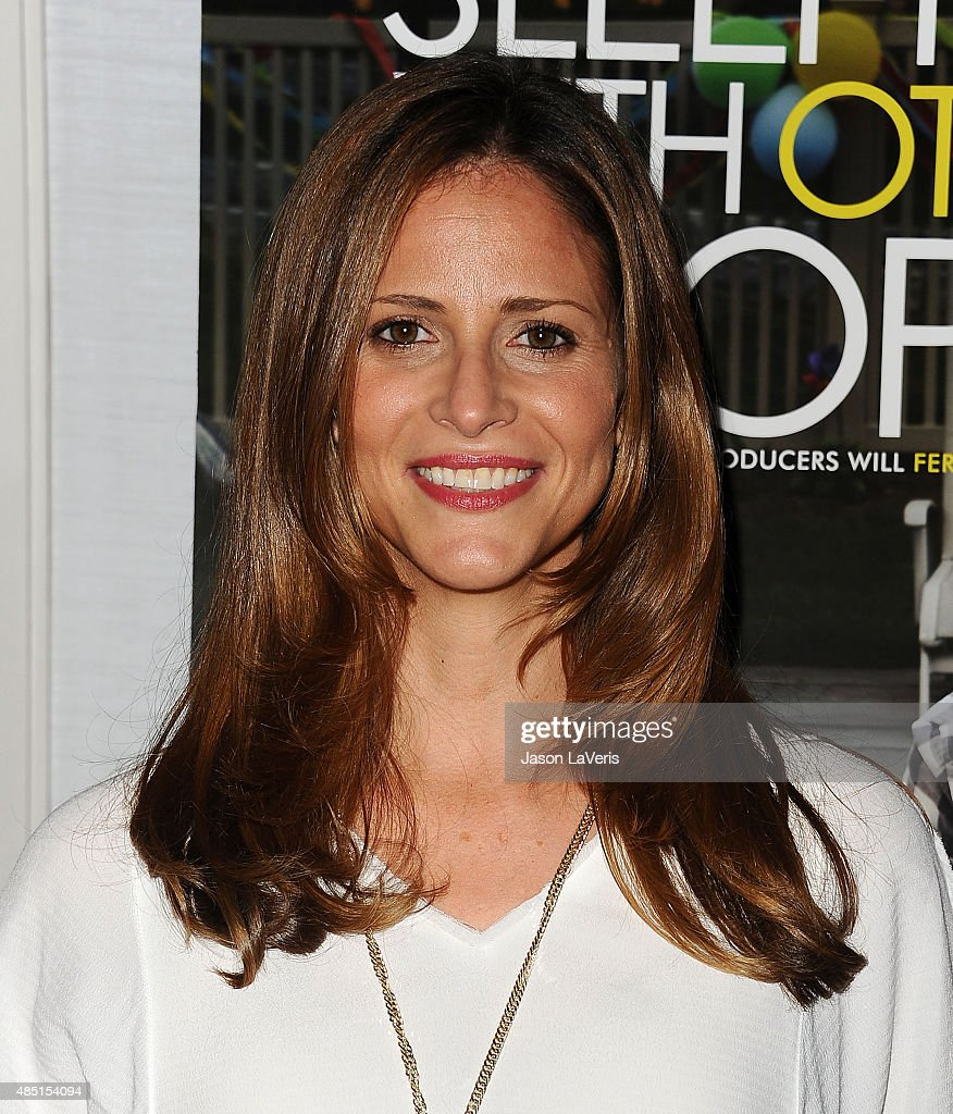Actress Andrea Savage attends the tastemaker screening of IFC Films' 'Sleeping With Other People' on August 24, 2015 in West Hollywood, California.