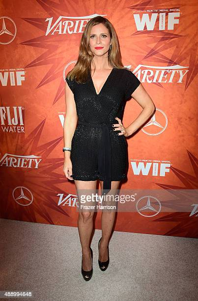Actress Andrea Savage attends the Variety and Women in Film Annual Pre-Emmy Celebration at Gracias Madre on September 18, 2015 in West Hollywood,...