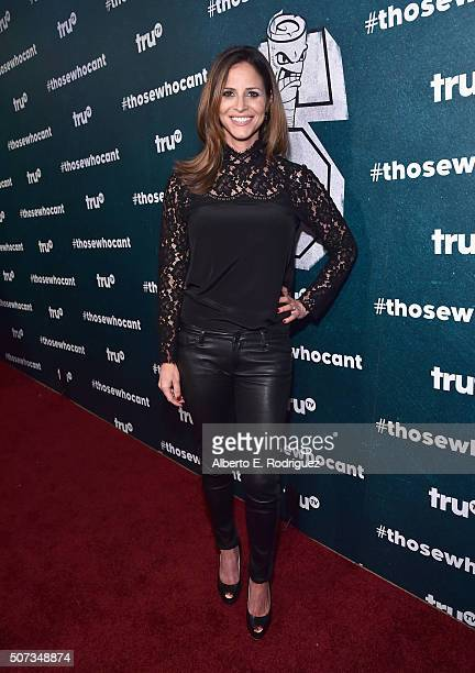 Actress Andrea Savage attends 'Those Who Can't' premiere event at The Wilshire Ebell Theatre on January 28 2016 in Los Angeles California 25914_001
