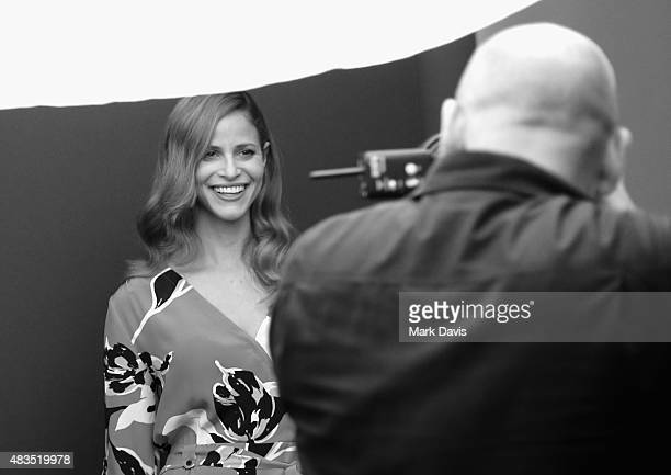 Actress Andrea Savage of Hulu's 'The Hotwives of Las Vegas' attends Behind The Scenes Of The Getty Images Portrait Studio Powered By Samsung Galaxy...