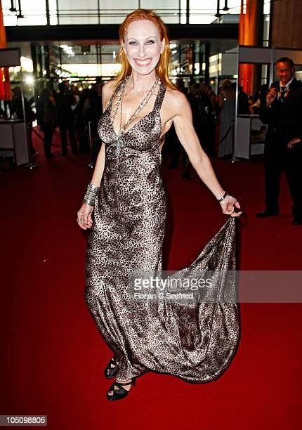 Actress Andrea Sawatzki attends the German TV Award 2010 at Coloneum on October 9 2010 in Cologne Germany