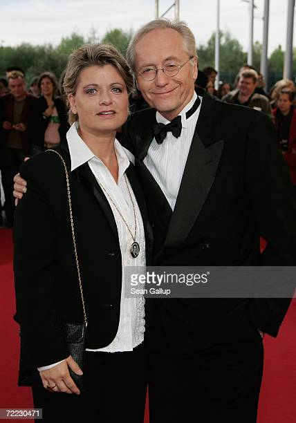 Actress Andrea Spatzek and Joachim Herrmann Luger attend the German Television Awards at the Coloneum October 20 2006 in Cologne Germany