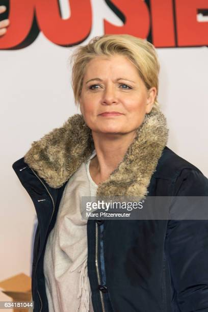 Actress Andrea Spatzek attends the premiere of SCHATZ NIMM DU SIE at the Cineplex on February 7 2017 in Cologne Germany